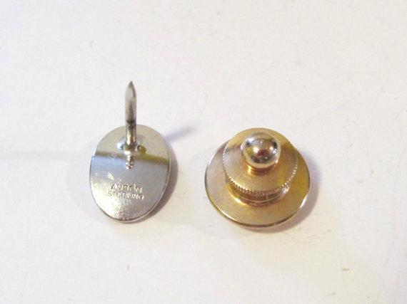 ANSON vintage sterling silver Diamond pin/brooch