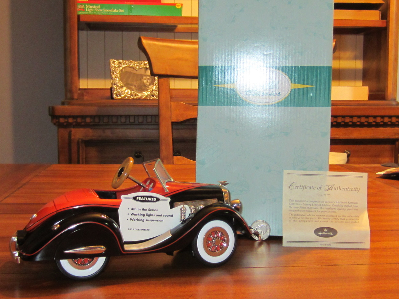 Hallmark Kiddie Car Classic Limited Luxury Edition 1935 Duesenberg 4th #QHG7116