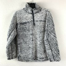 Elodie Womens Half Zip Sherpa Pullover Jacket Size XS Long Sleeves NEW - $18.80