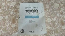 1999 CADILLAC SEVILLE SERVICE SHOP REPAIR MANUAL VOL 2 OF 2 GMP/99-K-2 - $11.44