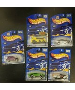 Lot of 5 Hot Wheels -2001-2003 Collector cars  - NEW on cards - $9.79