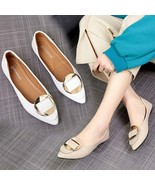 2019 Women's Pumps New Fashion Spring Summer Shoes Ladies Solid Pointed ... - $13.85+