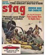 Stag Magazine Nov 1965 Combat Hero Nick Katzenbach Private Love Clubs Of... - $11.95