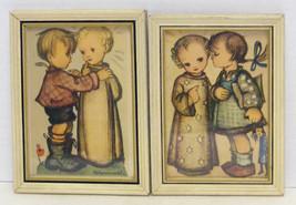 HUMMEL - 2 Small Vintage Framed Prints - $14.99