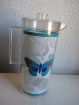 Vintage Stotter Butterfly Plastic Water Tea Pitcher - $26.99