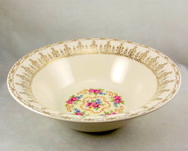 "Sebring Pottery Rose Bower Filigree 8"" china se... - $18.00"