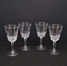 "Set of 4 Kosta Boda Rosita 6 1/8"" Crystal Wine Glasses - $39.00"