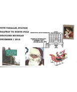 45th Parallel Station Halfway to North Pole Cancel Gaylord MI 12/1/2018 - $67,14 MXN