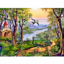PaintingStyle RA3032 CHUNXIA Framed DIY Painting By Numbers Butterfly Ac... - $7.53