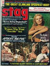 Stag Magazine Mar 1972 Escape From 40 Fathoms Skyjacked Speedway Heist B... - $11.95