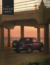 1993 Isuzu AMIGO sales brochure catalog US 93 S XS 2WD 4WD - $10.00
