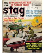 Stag Magazine Sept 1965 Castro Russian Plot Iron Curtain Beach Resorts N... - $11.95
