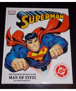2002 DC Superman The Ultimate Guide To The Man Of Steel Hard Cover Book - $19.99