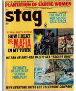 Stag Magazine Mar 1969 Plantation Of Exotic Women The Mafia Govt vs Synd... - $11.95