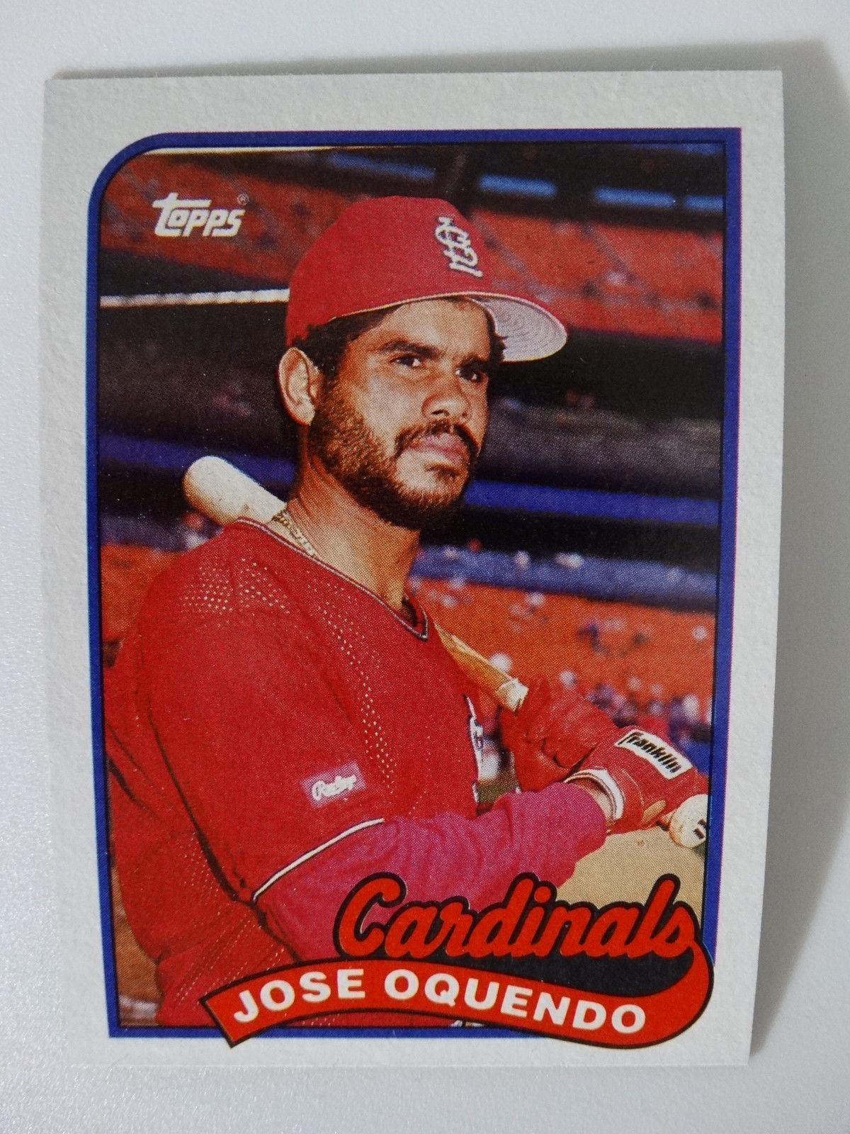51b0fe757ff 1989 Topps Jose Oquendo St Louis Cardinals and 50 similar items