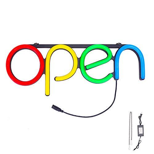 LED Neon Business Open Sign, Bar Store Shop Office Open Sign