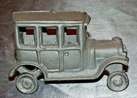 Old Vintage Cast Iron Car Replica Door Stop AA20-2177a Vintage Collectible