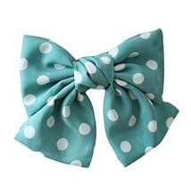 Hair Bow Chiffon Large Bowknot Hair Clip Handmade Hair Barrette for Women/Girls