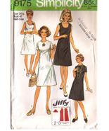 1970 HALF-SIZE DRESS Pattern 9175-s Size 24-1/2 - UNCUT - $12.99