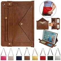 k3) Leather WALLET Flip Magnetic BACK cover Case for Apple iPad MODEL - $100.00