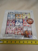 New Disney Frozen ll 9 rolls of stickers over 200 stickers Stocking Stuf... - $7.57
