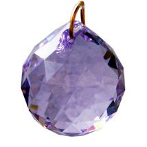 Swarovski 20mm Crystal Faceted Ball Prism image 11