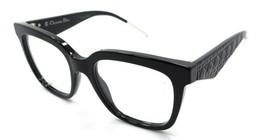 Christian Dior Rx Eyeglasses Frames Very Dior 1O 807 51-19-150 Black Italy - $161.70
