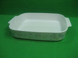 Corning Ware Pastel Bouquet A-21-P-N Casserole or Lasagna Dish ~ No Lid - $25.19