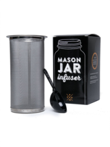 Mason Jar Infuser Filter Fits All Wide Mouth Jar - Cold Brew Coffee Tea ... - $43.99