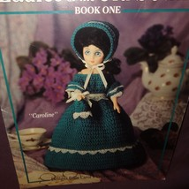 American Heritage Dolls Ladies Old South Crochet 1994 Booklet 2097 Leisure Arts - $10.99