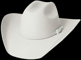 Bullhide 8X Fur Blend Silverbelly Cowboy Hat - THE LEGACY - $89.95