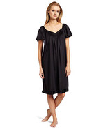 Vanity Fair Women's Coloratura Sleepwear Short Flutter Sleeve Gown 30109 - $19.79+