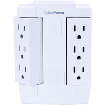Cyberpower 6-outlet Swivel Wall Tap (pack of 1 Ea) - $20.39