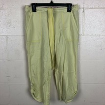 Pink By Victoria's Secret Pajama Bottoms Size S Yellow TB20  - $14.84
