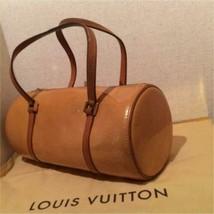 Auth LOUIS VUITTON Handbag Brown Vernis Leather Medium Logo Pouch LVB0140 - $308.88