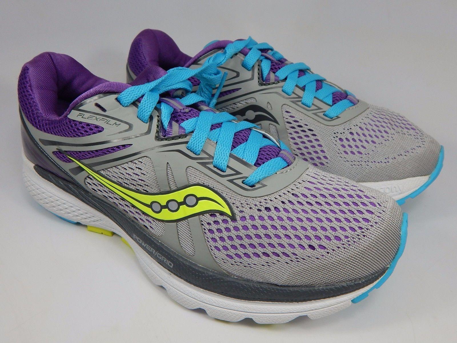 Saucony Swerve Women's Running Shoes Size US 8 M (B) EU 39 Gray Purple S10329-1