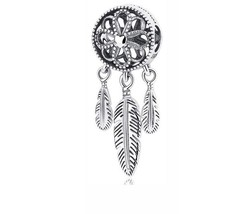Authentic gift 925 sterling suits Pandora Charm Spiritual Dream Catcher ... - $13.99+