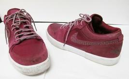 Nike Air Jordan Retro V.1 Athletic Sneakers Suede Red White #4811707 Men... - $46.95