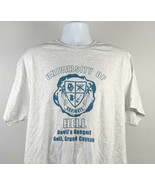 University of Hell graduate Devils Hangout Grand Cayman T Shirt Mens LXL - $21.73