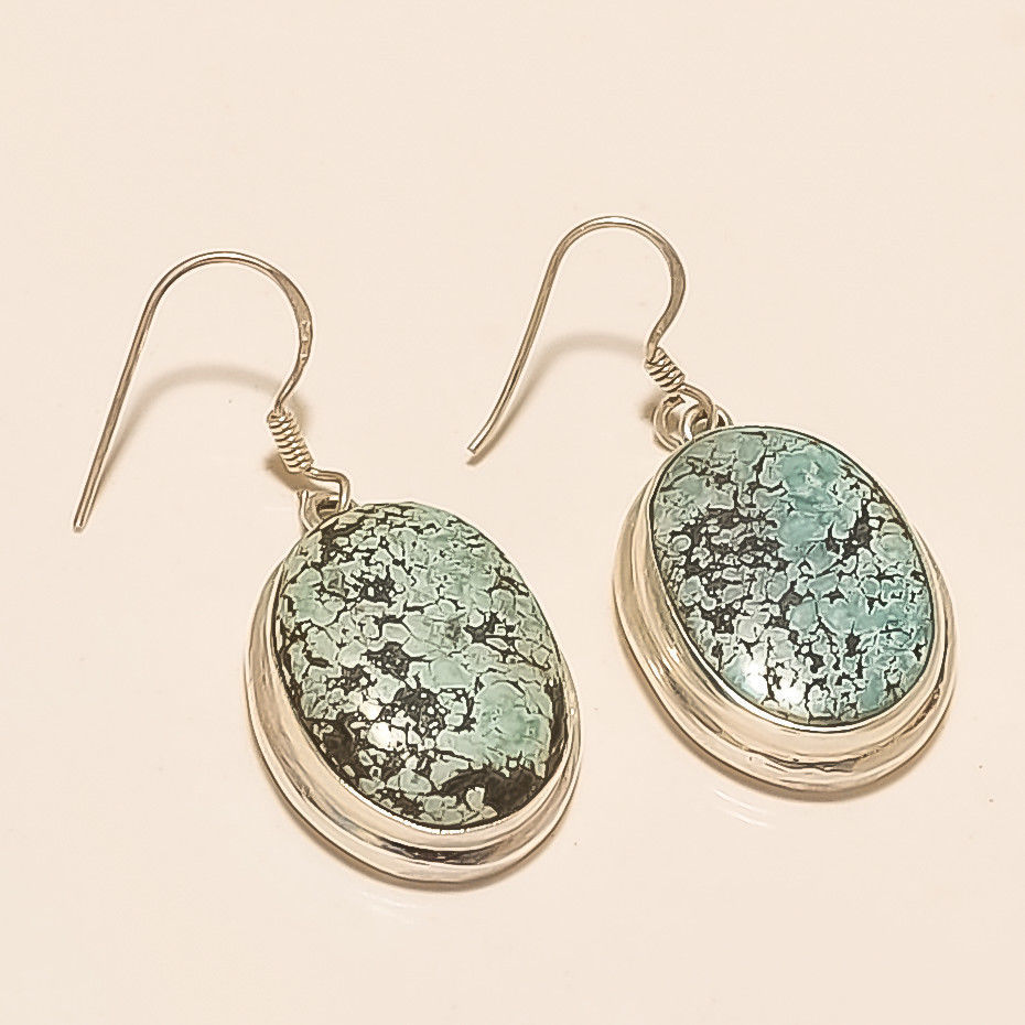 7203a49eb S l1600. S l1600. Natural Iran Persian Turquoise Earring 925 Sterling Silver  Hippy Old Jewelry New