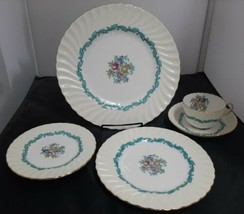 Minton ARDMORE 5 pc. Place Setting - Dinner, Bread, Salad Plates, Cup & Saucer - $27.08