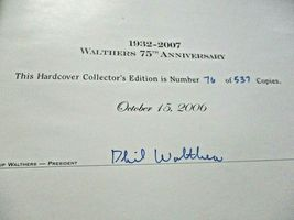 Walthers # 913-2470 2007 75th Anniversary Hard Cover # 76 of 537 Catalog N & Z image 3
