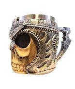 Panda Legends Skull Skeleton Coffee Mug Cup 3D Gothic Ossuary Style Tea ... - $32.38