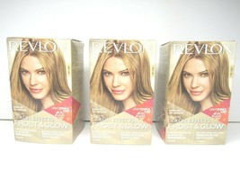 3 Revlon Color Effects Frost & Glow HONEY Hair Highlighting Kit Ammonia Free NEW - $34.64