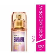 Engage W2 Perfume Spray For Women, 120ml  -Long lasting  -Refreshing fra... - $34.82