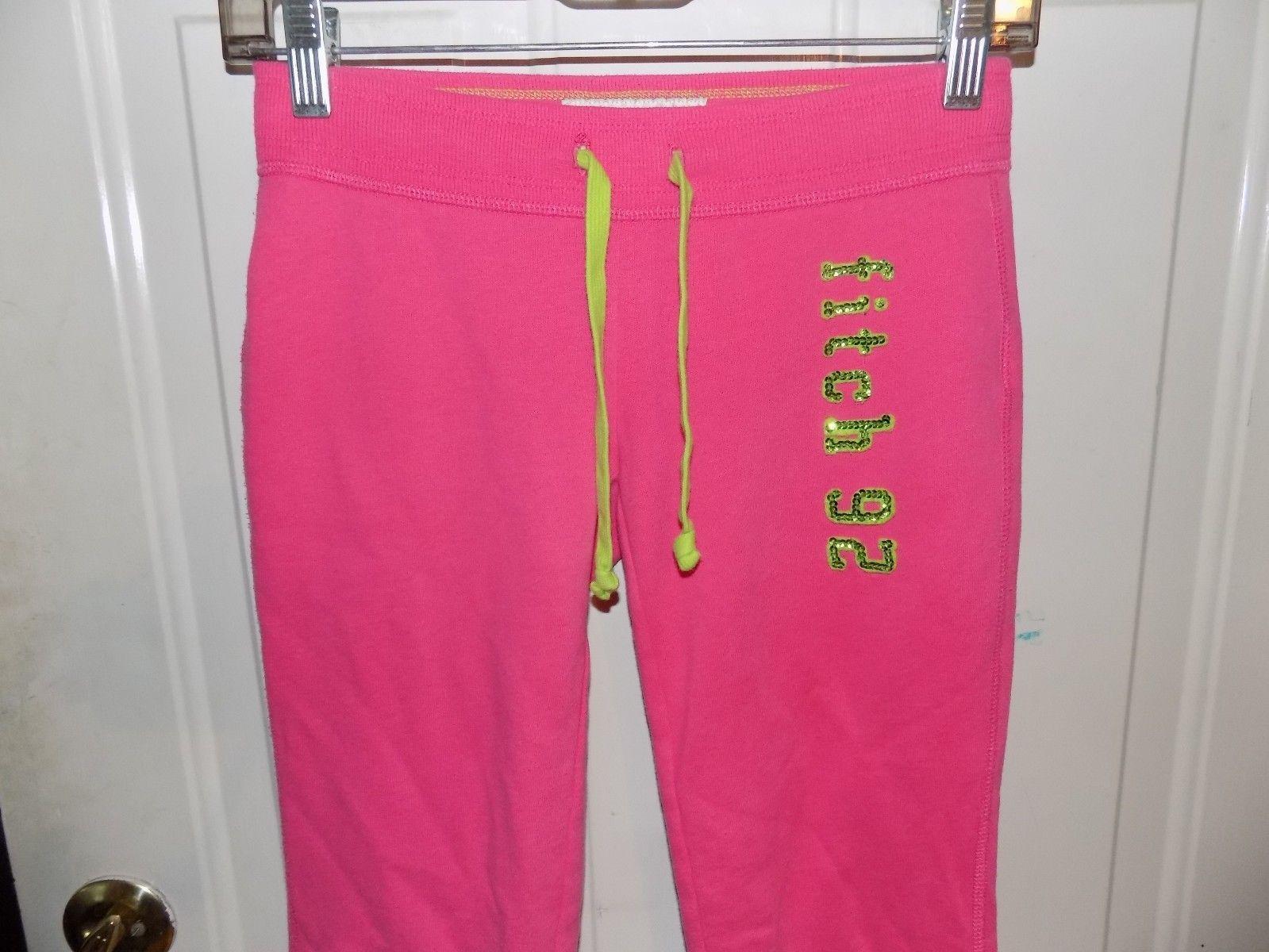 Abercrombie Kids Pink Sweatpants Size M Girl's EUC