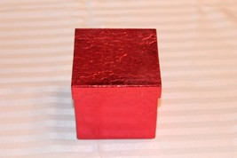Small Red Gift Box - 4 x 4 x 3.75 - $18.69