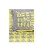 Bonnie Baby Crown Decke Gelbgrau 98x75 cm - $41.82
