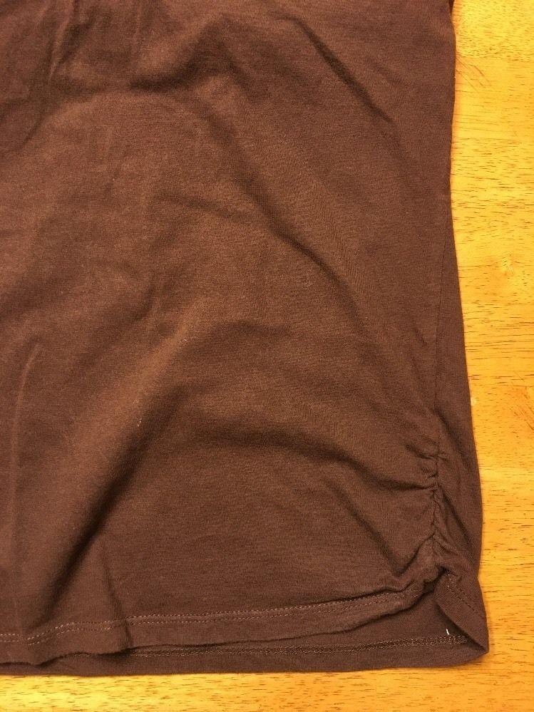 Xhilaration Girl's Brown Halter Top Shirt / Blouse Size: Large 10/12 image 10