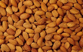 AIVA- Almonds, Shelled, Raw, 10 lbs. Bulk - $58.79